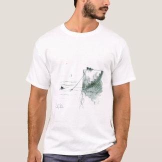 T-shirt Pêche outre de Quay - logo avant