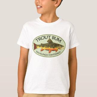 T-shirt Pêche sans valeur de truite