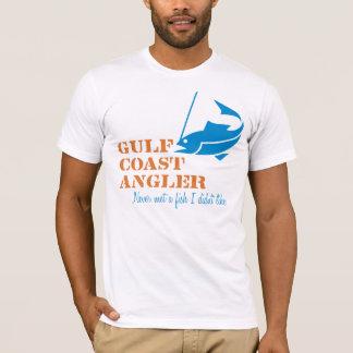 T-shirt Pêcheur à la ligne de Côte du Golfe