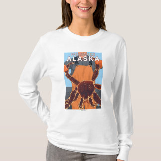 T-shirt Pêcheur limule - Fairbanks, Alaska