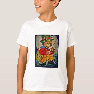 T-shirt Pêcheur vintage de nounours