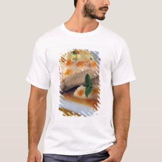T-shirt Pêchez le couscous et le taboulé pour l'usage aux