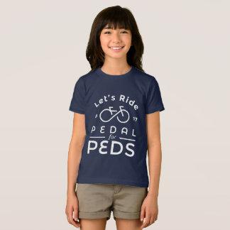 T-shirt Pédale du fonctionnaire 2017 de filles pour le