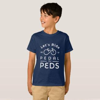 T-shirt Pédale du fonctionnaire 2017 de garçons pour le