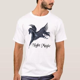 T-shirt Pegasus noir