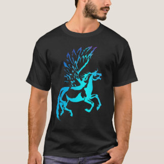 T-shirt Pegasus simple