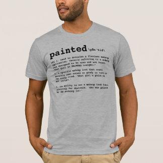 T-shirt PEINT, définition de maquilleur