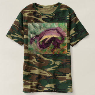 T-shirt peint par dragon