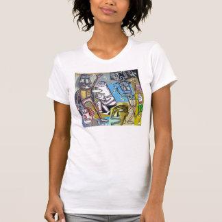 T-shirt Peinture #4 Rodin à Vegas