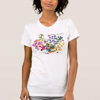 T-shirt peinture de jet