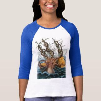 T-shirt Peinture de Kraken par Pierre Denys de Montfort,