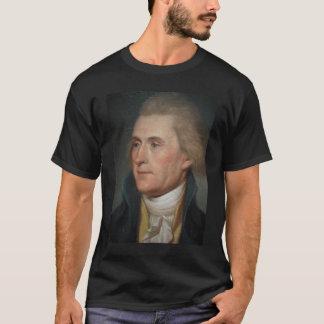 T-shirt Peinture de portrait de Thomas Jefferson