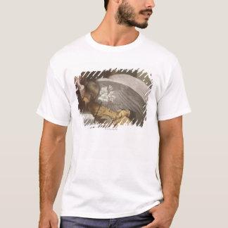 T-shirt Peinture d'un pointage d'ange