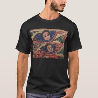 T-shirt Peinture éthiopienne d'église - 2 anges