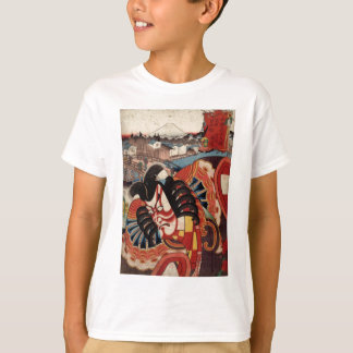 T-shirt Peinture japonaise vintage - acteur de Kabuki