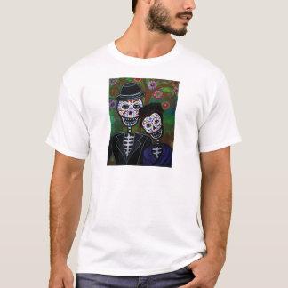 T-shirt Peinture mexicaine d'amants
