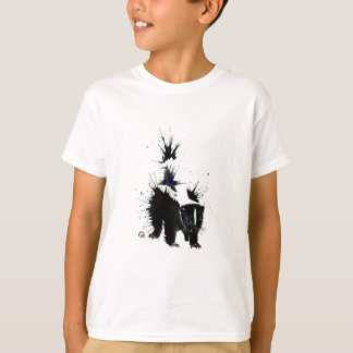 T-shirt Peinture pour aquarelle de mouffette