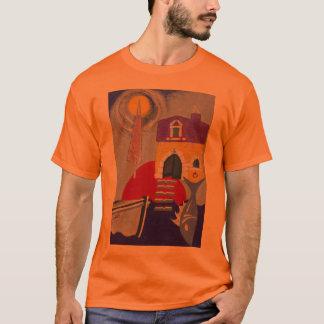 T-shirt Peintures de mer de Frane en huile