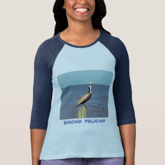 T-shirt Pélican 4.jpg de la Louisiane Brown