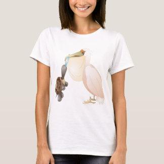 T-shirt pélican et tortue