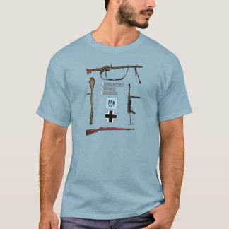 T-shirt Peloton allemand d'ASL avec la frontière d'arme