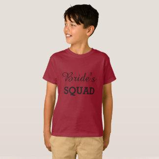 T-shirt Peloton de jeune mariée