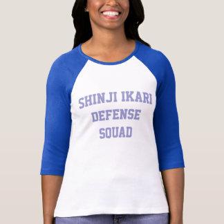 T-shirt Peloton de la défense de Shinji Ikari