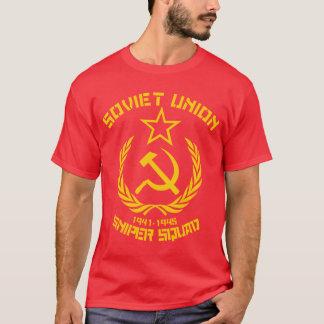 T-shirt Peloton de tireur isolé d'Union Soviétique