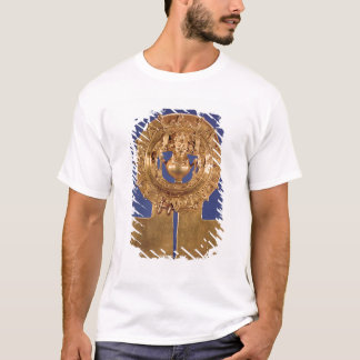 T-shirt Pendentif représentant un disque du soleil,