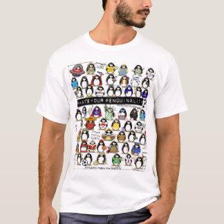 T-shirt Penguinality - visite de bonheur de pingouin
