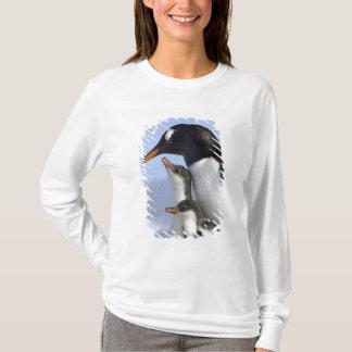 T-shirt Péninsule antarctique, port de Neko, Gentoo