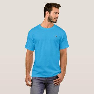 T-shirt Pensée sur un bleu