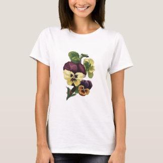 T-shirt Pensées en fleur