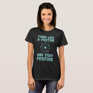 T-shirt Pensez comme Proton