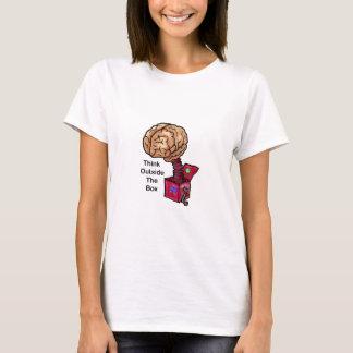 T-shirt Pensez en dehors de la boîte