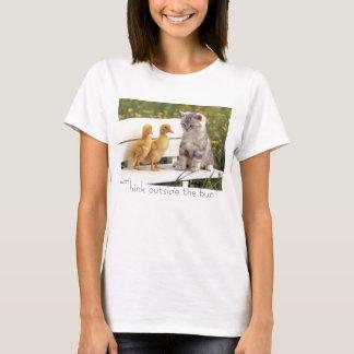 T-shirt Pensez en dehors du petit pain !