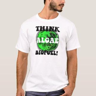 T-shirt Pensez le combustible organique d'algues !