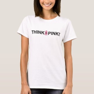 T-shirt Pensez le rose