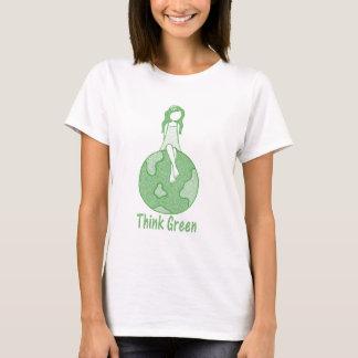 T-shirt Pensez le vert
