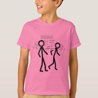 T-shirt Perdant une plaisanterie d'électron badine le