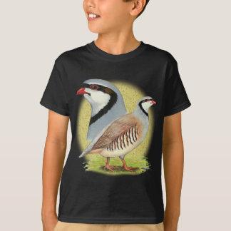T-shirt Perdrix de Chukar combinée