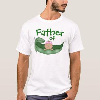 T-shirt Père de bébé (peau foncée)