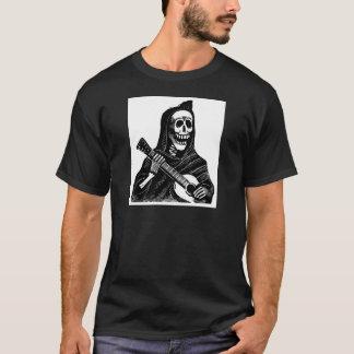 T-shirt Père Noël Muerte (faucheuse mexicaine) jouant la