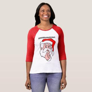 T-shirt Père Noël secret Sssshhhh ! !