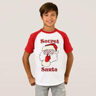 T-shirt Père Noël secret sur Noël
