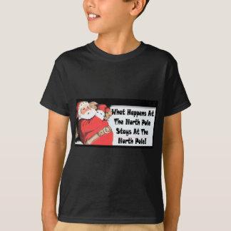 T-shirt père Noël sournois