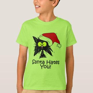 T-shirt Père Noël vous déteste