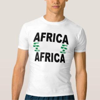 T-shirt Performance doré clair AFRICA