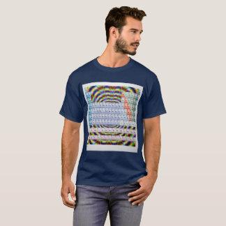 T-shirt périodique psychédélique d'art de buvard