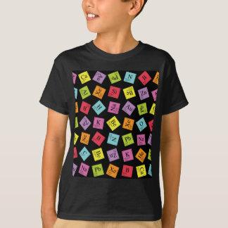 T-shirt Périodiques élémentaires (foncé)